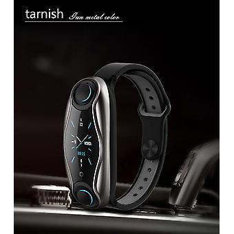 T90 bluetooth 5.0 earphone smart watch men women siri fitness bracelet health tracker multi- sport watch for xiaomi apple