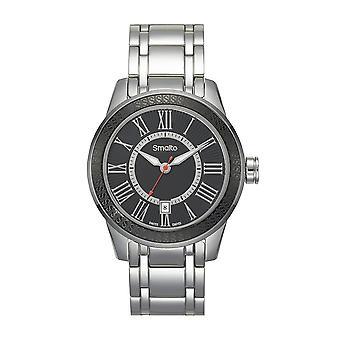 Men's Watch Smalto steel - black dial - 45 mm