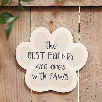Best of Breed Wooden Plaque - Best Friend