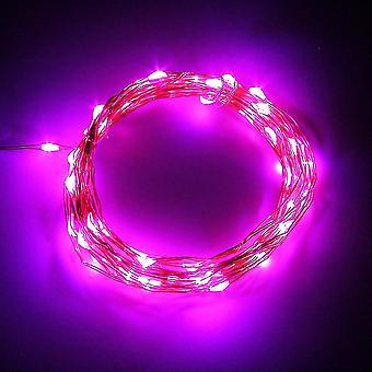 5m 50led سلسلة خرافية ضوء البطارية مربع تعمل عيد الميلاد أضواء الحزب الديكور