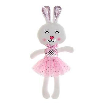 Fluffy toy DKD Home Decor Rabbit (18 x 5 x 35 cm)