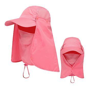 Unisex Visier Hüte Angeln Sonnenschutz Kappe UV-Schutz