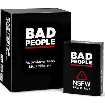 悪い人々 - あなたがおそらくプレイすべきではないパーティーゲーム + Nsfw拡張パック