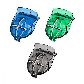 Golf Line, 3 Pcs Marker Drawing Alignment Tool For Liner Wax Paper Putter Clip, Green Blue Black