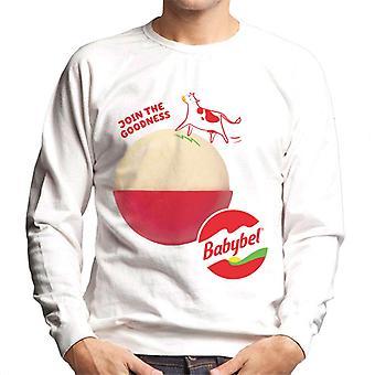 Baby Bel Gå med i godheten mäns sweatshirt