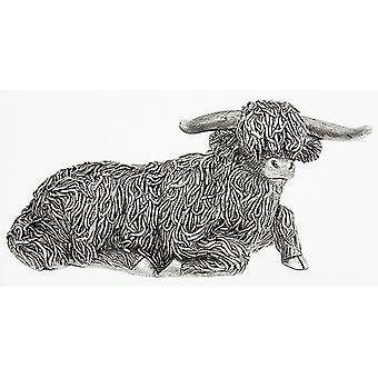 Piccolo ornamento giaceva l'altopiano d'argento