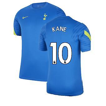 توتنهام 2021-2022 قميص تدريبي (أزرق) (KANE 10)