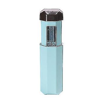 Portable ultraviolet sterilizer UVC handheld LED lamp ozone stick(Gilded Green)
