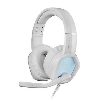 Spelörhänge med mikrofon Mars Gaming MH320W LED RGB Stereo Grey