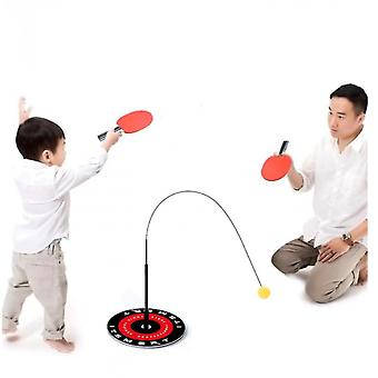 Family Game Table Tennis Trainer Children's Toy Set Outdoor