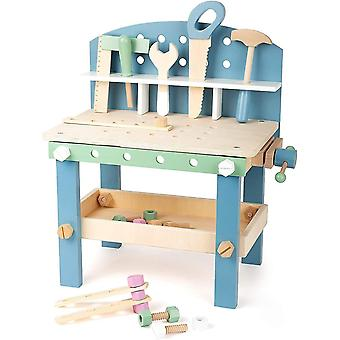 Pretend electronics small foot children's nordic workbench compact play set