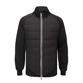 Oscar Jacobson Mens Radstock Rain Jacket Long Sleeve Full Zip Outerwear Top