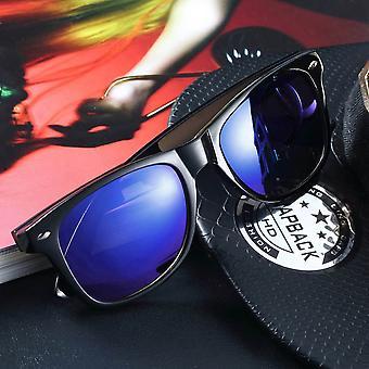 Portable Men Women Classic Mirror Outdoor Eyewear Sunglasses Uv400 Protecting