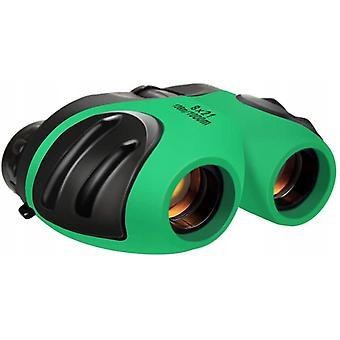 Binoculars 8x21 Telescope Foldable Telescope For Children, Green