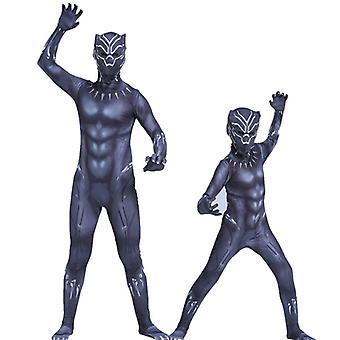 Black Panther Superheld Kinder Jungen Cosplay Kostüm Jumpsuit Kostüm Kostüm