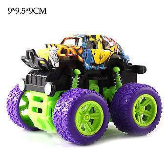 子供のおもちゃ慣性四輪駆動オフロード車シミュレーションスタントスイング車耐震防止アンチフォールモデルおもちゃの誕生日プレゼント