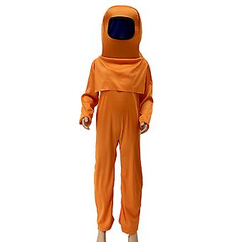 Jeu parmi nous Enfants Cosplay Costume Tenue Combinaison Sac Couvre-chef Chapeau