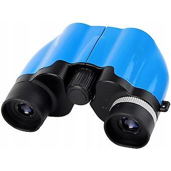 Volledig optische 8 * 22 Hd Outdoor Kinder verrekijker (blauw)