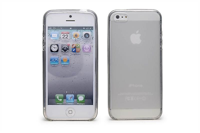 Crystal Gel Case Cover For Apple iPhone 5 5S SE - Clear