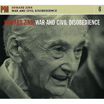 Howard Zinn - War & Civil Disobedience [CD] USA import
