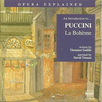 G. Puccini - An Introduction to Puccini's La Boh Me [CD] USA import