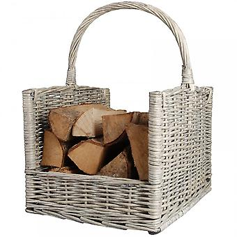 Fallen Fruits Willow Log Basket