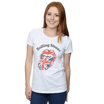Rolling Stones Women's UK Tongue T-Shirt