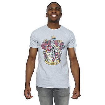 हैरी पॉटर पुरुषों और apos; s Gryffindor व्यथित क्रेस्ट टी शर्ट