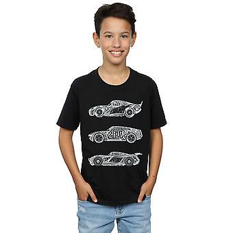 Disney jungen Autos Text Racers T-Shirt