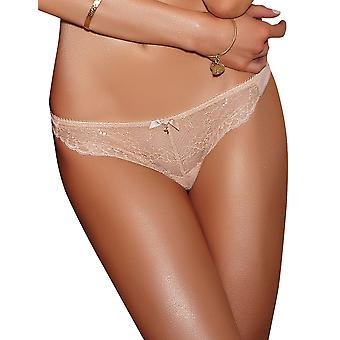 Gossard Superboost Lace Nude Thong 7716