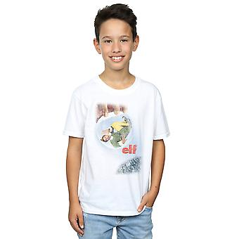 Elf jongens verdrietig Poster T-Shirt