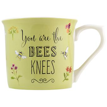 English Tableware Co. Bees Knees Mug, Green