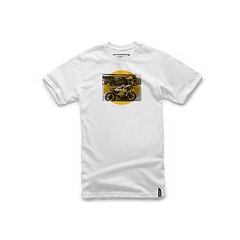 Alpinestars Task Short Sleeve T-Shirt in White