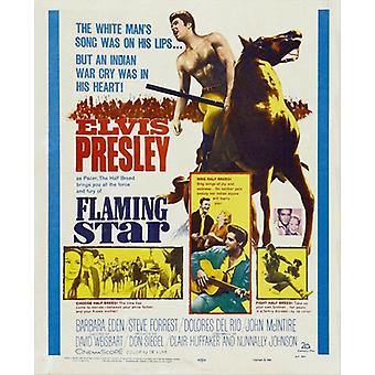 Flaming Star Movie Poster (11 x 17)