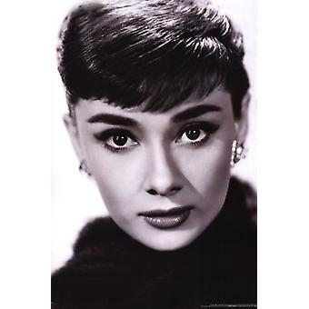 Audrey Hepburn - Close Poster Poster Print