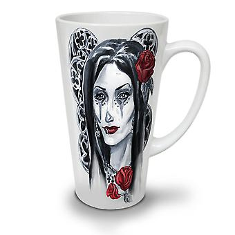 Girl Metal Creepy Horror NEW White Tea Coffee Ceramic Latte Mug 12 oz | Wellcoda