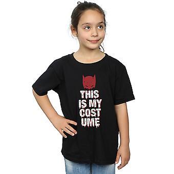 Batman de DC Comics chicas este es mi traje t-shirt