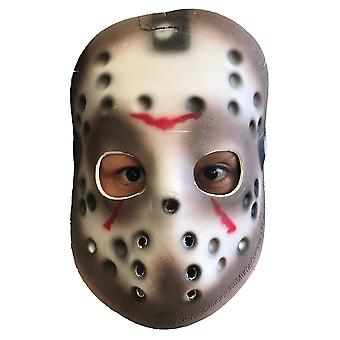 Jason Voorhees Friday The 13th Kauhu Killer lisensoitu Eva miesten puku naamio