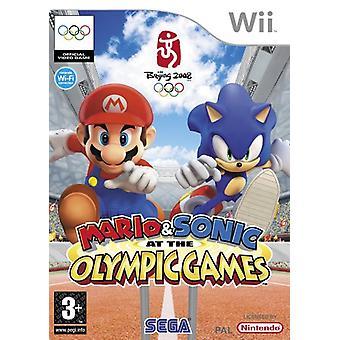 Mario Sonic op de Olympische spelen (Wii)-nieuw