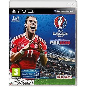 UEFA Euro 2016Pro Evolution Soccer (PS3)-fabriek verzegeld