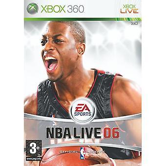 NBA Live 06 (Xbox 360) - As New