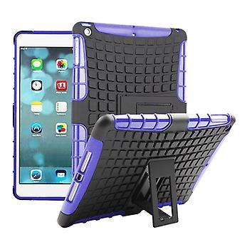 Υβριδική εξωτερική προστατευτική θήκη περίπτωση μωβ για την Apple συσκευή iPad Air