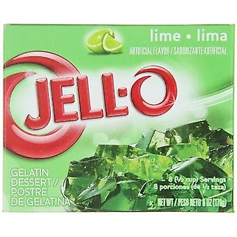 Jell-O Lime instant Jello gelatina Mix 6 oz box