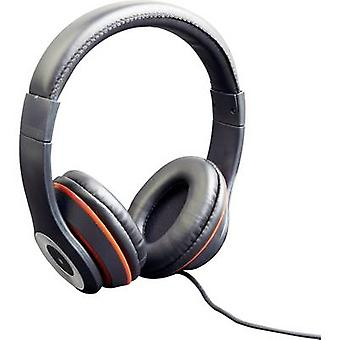 Gembird Los Angeles On-ear headphones On-ear Headset Black