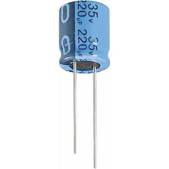 Condensador electrolítico de Jianghai ECR1EPT102MFF501020 Radial plomo 5 mm 1000 μF 25 V 20% (Ø x H) 10 x 20 mm 1 PC