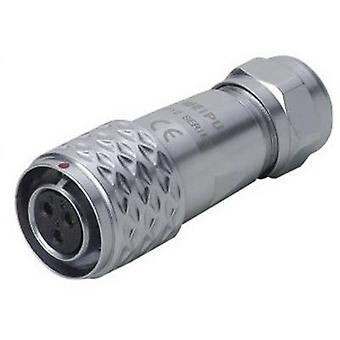 Weipu SF1210/S2 I Bullet connector Socket, straight Series (connectors): SF12 Total number of pins: 2 1 pc(s)
