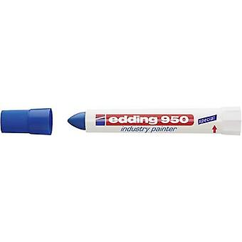 Edding edding 950 industrie schilder 4-950003 industriële marker blauw waterdicht: Ja
