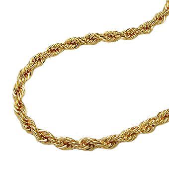 Bracelet Gourmette Bracelet 19 cm, collier, 9 KT or 375