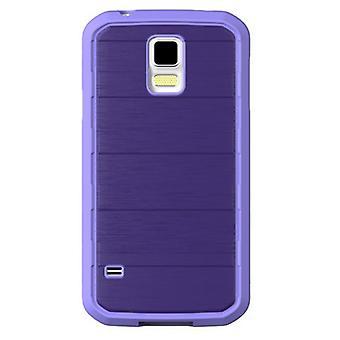 Caso de ascensão do corpo luva Samsung Galaxy S5 G900 (roxo/roxo)