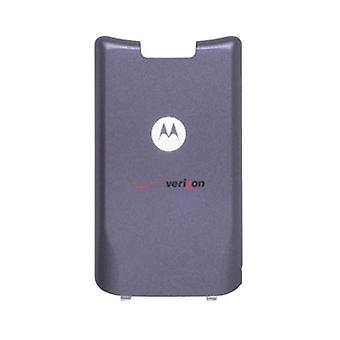 OEM Motorola KRZR K1m Standard Battery Door - Dark Gray